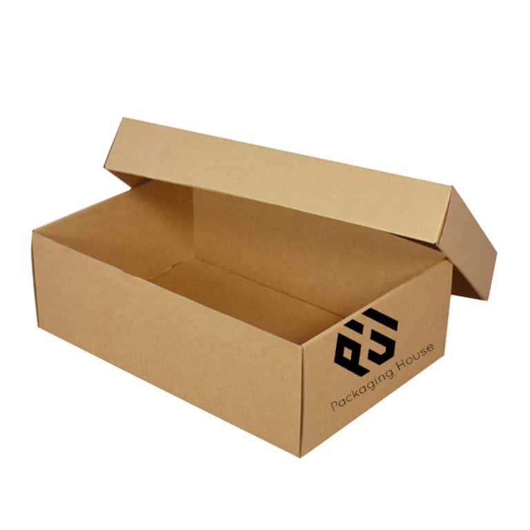2 pice corrugated box 768x768 - 2 Piece corrugated Shoe Box