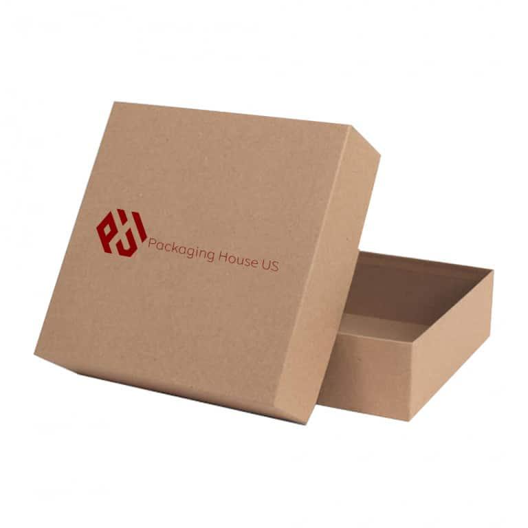 two piece kraft 768x768 - 2 Piece Gift Kraft Box